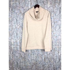 j.Crew Mercantile Beige Turtleneck Sweater